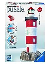 Ravensburger 3D Puzzles Coastal Lighthouse, Multi Color (216 Pieces)