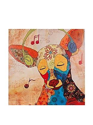 Arte Dal Mondo Lienzo Edgar Ramirez Chiwawa Pop Art