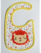 Carter's Red cat Baby Bib