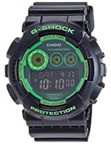 Casio G-Shock Digital Green Dial Men's Watch - GD-120N-1B3DR (G537)
