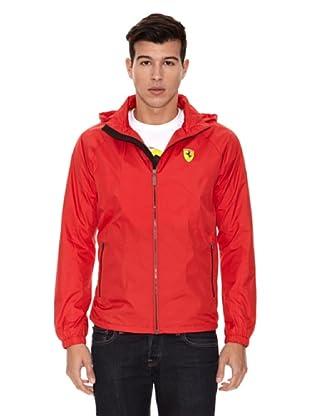 Ferrari Chaqueta Wind (Rojo)