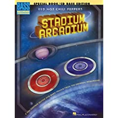 Red Hot Chili Peppers Stadium Arcadium (Book & CD)