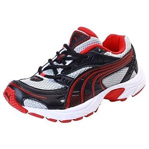 Puma Kids Axis Jr Ind Black Sports Shoes