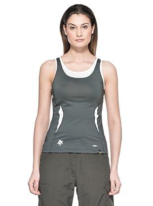 Salewa Camiseta Hypoxa Dry W Top (Antracita)