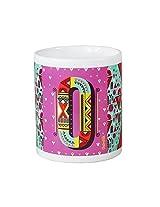 Chumbak Alphabet O Coffee Mug, 300ml