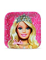 MBGiftsGalore Barbie Square Plate (Pack of 10)