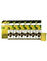 Vaadi Herbals Super Value Pack of Olive Facial Bars with Cane Sugar Extract, 25gm x 6