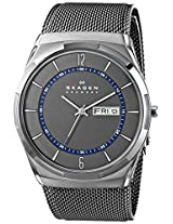 Skagen Melbye Analog Grey Dial Men's Watch - SKW6078