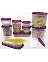 Princeware Fresh Fit Easy Store Containers, Set Of 10