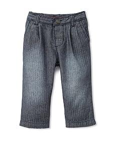 Tea Collection Girls Girl's Carrot Denim Pants (rinse wash)