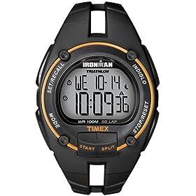 【クリックで詳細表示】[タイメックス]TIMEX 腕時計 アイアンマン トライアスロン 50ラップ ウレタンストラップ T5K156 フルサイズ メンズ [正規輸入品]