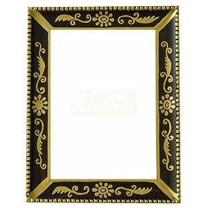 Indispash Handpainted Gold/Brown Inlay Frame