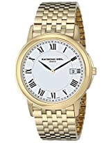 "Raymond Weil Unisex 5466-P-00300 ""Tradition"" Gold-Tone Stainless Steel Watch"