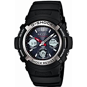 【クリックで詳細表示】[カシオ]CASIO 腕時計 G-SHOCK ジーショック タフソーラー 電波時計 MULTIBAND 6 AWG-M100-1AJF メンズ: 腕時計通販