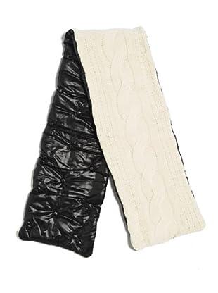 Furla bufanda Gam (negro /blanco)