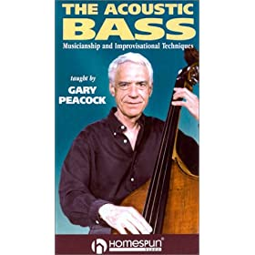 Gary Peacock: Acoustic Bass Musicianship & Improvi [VHS] [Import]