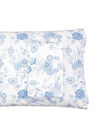 Anne de Solène Pair of Indienne/Patchouli Pillowcases