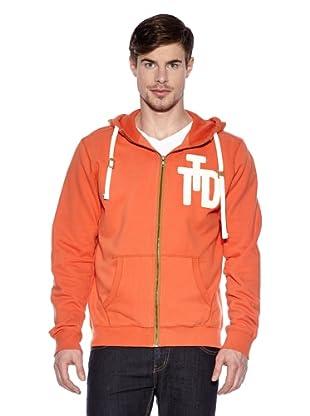 Tom Tailor Denim Sweatjacke (tent orange)