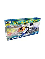 Scalextric Super Karts 1:32 Scale Slot Car Playset