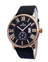 A Avon Black Dial Analogue Watch for Men (1001998)