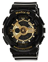 Casio Baby-G Analog-Digital Black Dial Women's Watch - BA-110-1ADR (BX015)