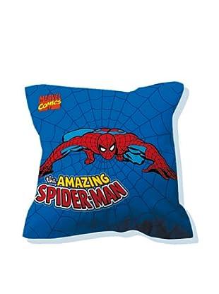 Euromoda Licencias Cojín con Relleno Spiderman  2 (Azul / Rojo)