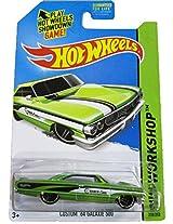 Mattel Hot Wheels - 2014 Hw Workshop - Hw Performance 250/250 - Custom 64 Ford Galaxie 500(Green)