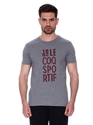 Le Coq Sportif Camiseta Brivet Tss M (Gris)