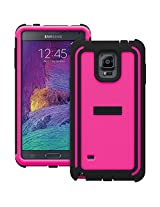 TRIDENT Samsung Galaxy Note 4 Cyclops Series Case - Retail Packaging - Pink