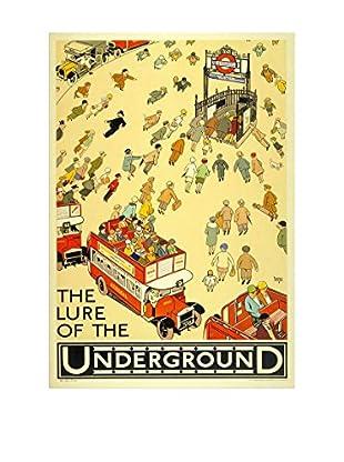 Really Nice Things Leinwandbild London Underground