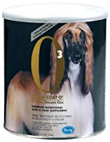 Mirra-Coat O3 Organic Powder Coat Conditioner for Dogs, 1-Pound