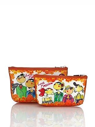 Love Moschino Set Buste (Arancione)
