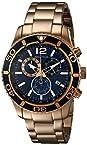 Nautica Men's NAD20004G NST 09 Analog Display Japanese Quartz Gold Watch