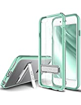 iPhone 6S Plus Case, OBLIQ [Naked Shield][Mint][Metal Kickstand] Thin Slim Fit Crystal Clear Case + TPU Bumper Armor Scratch Resist Protection for Apple iPhone 6S Plus (2015) & iPhone 6 Plus (2014)