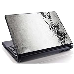 Floral Laptop Skin - 2 tone Beauty | 15.6 Inches
