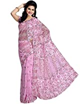 Wonderful Light Pink Saree