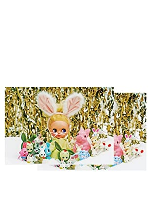 Nouvelles Images Merry Christmas Every Bunny 2-Pack Greeting Cards