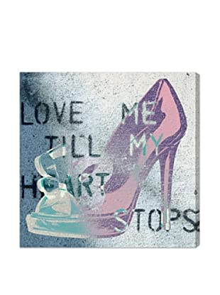 Oliver Gal Love Me Till My Heart Stops Canvas Art