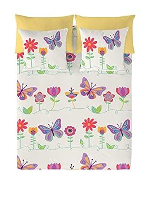 Valentina Juego De Funda Nórdica Happy Butterflies