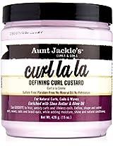 Aunt Jackies Curl La La Defining Curl Custard, 15 Ounce