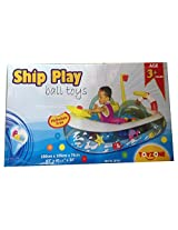 Saluja Toys Ship Play Ball Toy/ Ball House