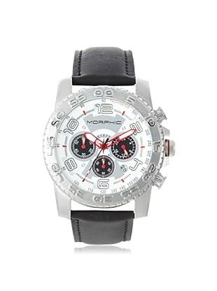 Morphic Men's MPH0201 M2 Series Black/White Chronograph Watch