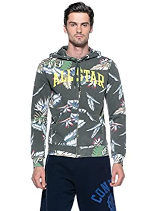 Converse Chaqueta Ct Man Hawaii Hd (Multicolor)
