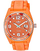 Adidas Analog Orange Dial Unisex Watch - ADH6157