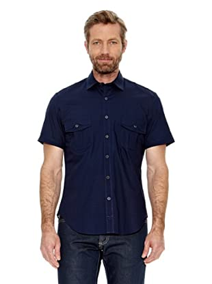 Titto Bluni Camisa Manga Corta Orazio (Azul Marino)