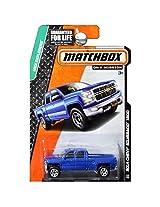 Matchbox MBX Explorers 2014 Chevy Silverado 1500 Blue #118/120