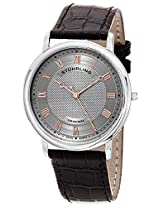 Stuhrling Original Analog Grey Dial Men's Watch - 645.02