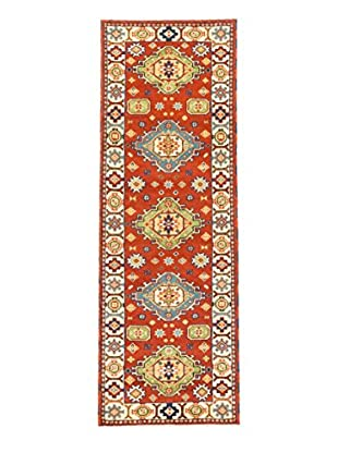 eCarpet Gallery One-of-a-Kind Hand-Knotted Royal Kazak Rug, Cream/Copper, 2' 9