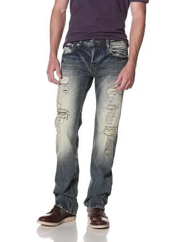 Cult of Individuality Men's Hagen Relaxed Jeans (Ringer)