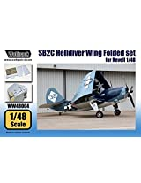 Wolfpack 1:48 Sb2 C Helldiver Wing Folded Set For Revell Kit Resin #Ww48004